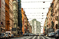 Prague, Nove Mesto, main road in the old town - CSTF01296