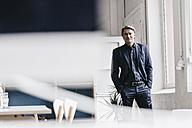 Portrait of confident mature businessman - JOSF00689