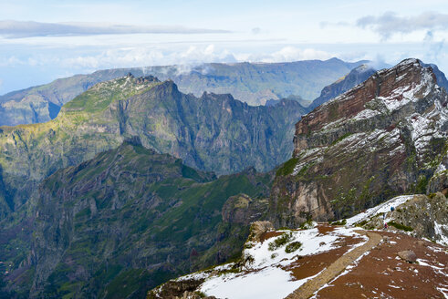 Portugal, Madeira, mountains in Madeira Natural Park - RJF00685