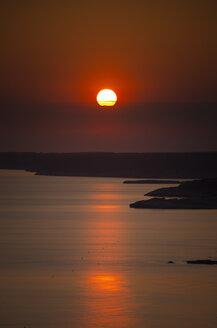 Spain, Menorca, Son Bou, sunset - SMAF00719