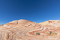 USA, Nevada, Valley of Fire State Park, colored sandstone and limestone rocks - FOF09095