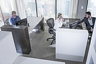 People working in city office - ZEF13172
