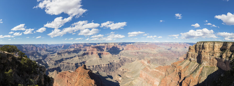USA, Arizona, South Rim, Colorado River, Grand Canyon National Park, panorama from Mohave Point - FOF09132