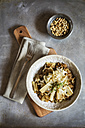Spelt risotto with salsifies, pine nuts and parmesan - EVGF03168