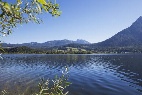 Austria, Salzkammergut, Lake Hallstatt, Untersee - GWF05058