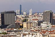 Austria, Vienna, cityscape with view to Donau City - WDF03940