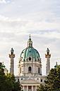 Austria, Vienna, Karlsplatz, Karlskirche - WDF03958