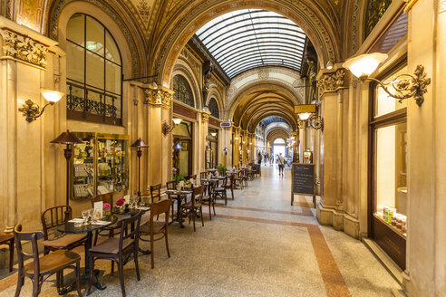Austria, Vienna, Freyung, Palais Ferstel, shopping arcade - WD03976