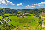 Germany, Beuron, Benedictine abbey Beuron - WGF01065