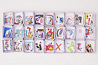Collected letters in cardboard boxes - CMF00678