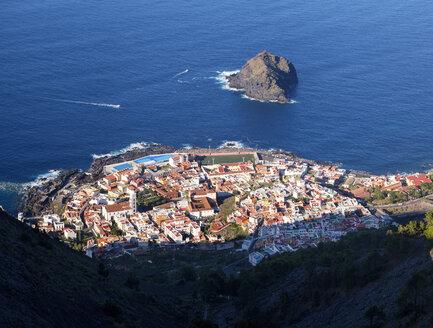 Spain, Canary islands, Tenerife, Garachico and Roque de Garachico - SIEF07395