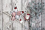 Christmas decoration on wood - LVF06027