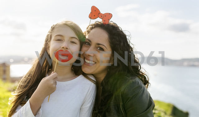 Mother and daughter having fun outdoors - MGOF03233