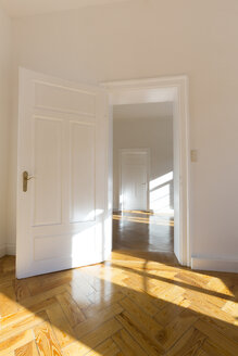 Spacious empty flat with herringbone parquet - FCF01168