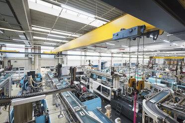 Factory shop floor, molding section - DIGF01797