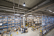 High rack warehouse in factory - DIGF01815