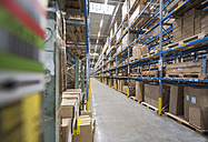 High rack warehouse in factory - DIGF01821