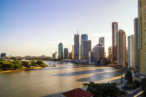 Australia, Queensland, Brisbane, skyline - PUF00638