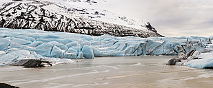 Iceland, one of the tongues of Vatnajokull glacier - RAEF01855
