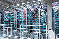 Modern automatized high rack warehouse - DIGF02332