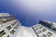 Germany, Duesseldorf, New Zollhof, facades of Gehry Houses - THA01944