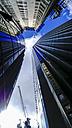 UK, England, London, facades of three office towers - HOHF01416