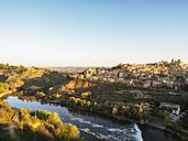Spain, Toledo, cityscape at sunrise - LAF01826