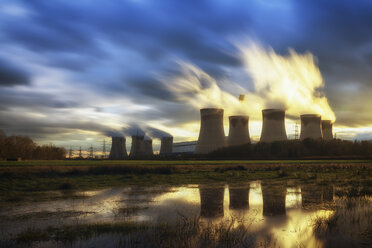UK, England, North Yorkshire, Drax power station - SMAF00734