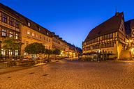 Germany, Saxony-Anhalt, Stolberg at night - PVC01097