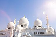 UAE, Abu Dhabi, Sheikh Zayed Mosque - MMAF00079
