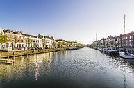 Netherlands, Zeeland, Middelburg, city harbour - THAF01949