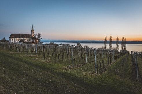 Germany, Birnau, baroque church at Lake Constance - KEBF00552