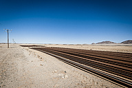 Namibia, Namib desert, rails near road B4 southeast of Luederitz - EGBF00233
