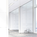 Bicycle leaning on the wall in a loft, 3D Rendering - UWF01191
