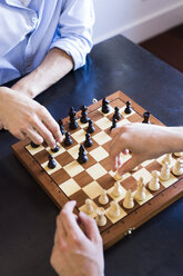 Two men playing chess - GIOF02708