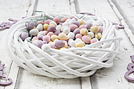 Easter nest of Chocolate Easter eggs - LVF06146