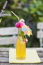 Glass of decorated homemade lemonade - GWF05231