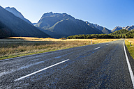 New Zealand, South Island, Fiordland National Park, Te Anau Milford Highway, Eglinton Valley - STSF01234