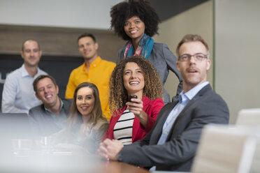 Business meeting in boardroom - ZEF14005