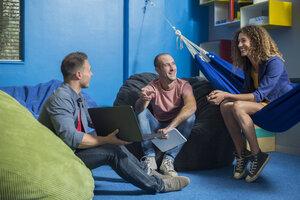 Creative informal meeting in office - ZEF14029
