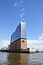 Germany, Hamburg, view to Elbphilharmonie - HLF01005