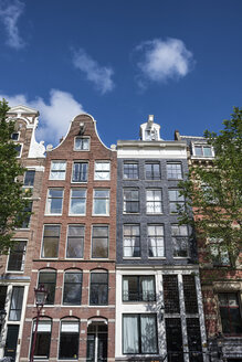 Netherlands, Amsterdam, historical canal houses - ELF01847