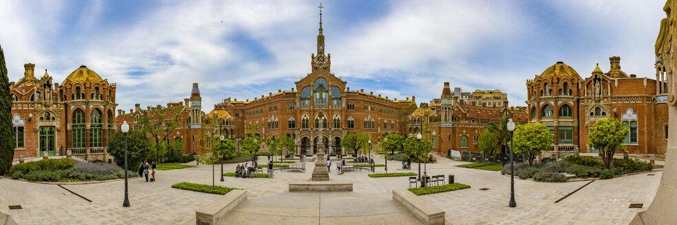 Spain, Barcelona, Hospital de la Santa Creu i Sant Pau - YRF00161