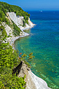 Germany, Ruegen, chalk cliff at Jasmund National Park - MHF00419