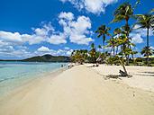Caribbean, Martinique, Sainte-Anne, beach at Club Med Les Boucaniers - AM05402