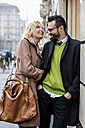 Happy business couple in the city - MAUF01098