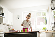Little girl baking in the kitchen - MOEF00035
