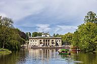 Poland, Warsaw, Royal Lazienki Park, Palace on the Isle - ABO00224