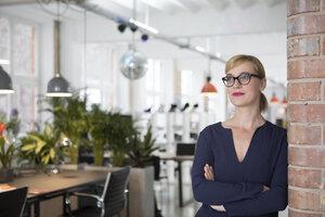 Portrait of a businesswoman in office - RBF05822