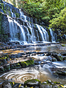New Zealand, South Island, Catlins, Purakaunui Falls - STSF01244